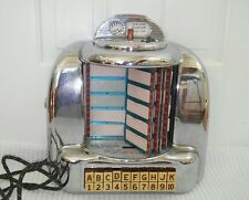 1950's Vintage Original Seeburg tabletop Jukebox Coin Operated 10, 25 cents