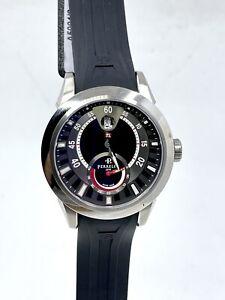 Perrelet Power Reserve Automatic Black Dial Men's Watch A5004/2 43mm