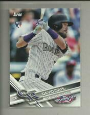 David Dahl RC  2017 Topps Opening Day Rookie Card # 126  Colorado Rockies MLB