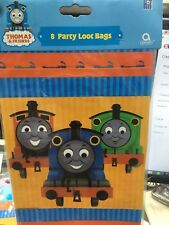 Thomas The Tank Engine and Friends 8 Party  Loot Bags x 5 pack