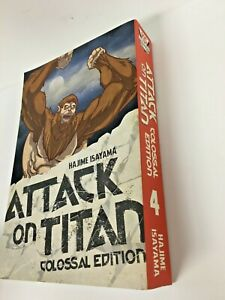 Attack On Titan: Colossal Edition 4 by Hajime Isayama (Paperback, 2018)