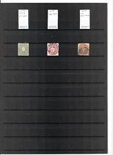 N°639 - SACHSEN ( Etat allemand ) ( 1863-67 ) - 3 timbres oblitérés