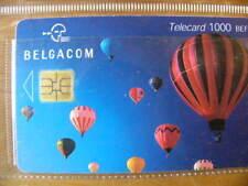 Télécarte chip-Belgique-Montgolfière1000 BEF