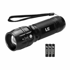 LE CREE LED Adjustable Focus Mini Tactical Flashlight Torch, Zoomable, Small