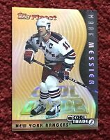 MARK MESSIER 1995-96 TOPPS FINEST Cool Trade REFRACTOR #5 of 20 RARE 🔥🏒💥🏒