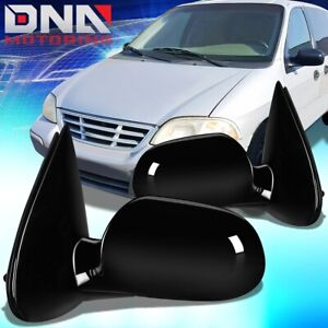 FOR 1995-1998 FORD WINDSTAR PAIR OE STYLE POWER SIDE DOOR MIRROR REPLACEMENT