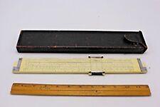 Keuffel and Esser Slide Rule Decimal Trigtype Log Log Rule 1732 w/ Leather Case