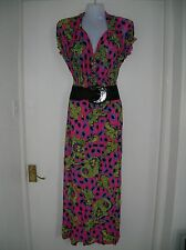 NEW WITH TAGS LADIES 14 16 XXL MAXI DRESS SUMMER HOLIDAY CRUISE PARTY NIGHT OUT