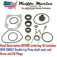 Johnson Evinrude Lower Unit Gearcase Seal Kit for 25 40 48 50 Hp 433550 18-2694