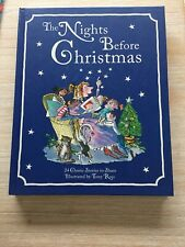 THE NIGHTS BEFORE CHRISTMAS. 24 STORIES ILLUSTRATED BY TONY ROSS. H/C BRAND NEW