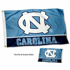 UNC Tar Heels Flag Double Sided 2-Ply 3x5 Foot Outdoor Banner