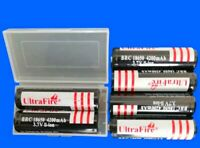2-4 X Hochwertige UltraFire Akku 18650 4200 mAh Wiederaufladbar Batterien