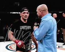 Michael Chandler & Jimmy Smith Signed 8x10 Photo BAS Beckett COA Bellator MMA