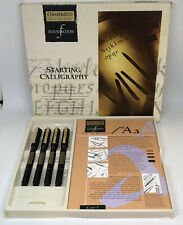 OSMIROID STARTING CALLIGRAPHY PEN SET FOUNDATION USED ONCE