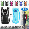 Hydration Pack+2L Water Bladder Bag Backpack for Hiking Camping Cycling 6 Colors