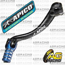 Apico Black Blue Gear Pedal Lever Shift For Yamaha YZ 450F 2011 Motocross Enduro
