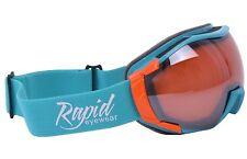 OTG SUR-LUNETTES POUR SKI: masque de ski adapté à la vue. Hommes et femmes. Bleu