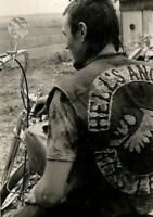 Vintage Hell's Angels Photo 710 Bizarre Odd Strange