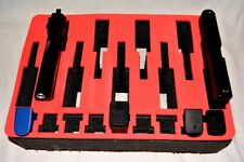 New Collectors 9 pistol Red Topper foam insert kit fits your Pelican 1450 case
