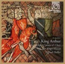 Deller Consort Kings Musick King Arthur 2 CD Album Harmonia M