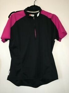 XL Specialized Women's RBX cycle Short Sleeve Jersey Black/Pink 21-835