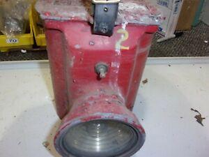 SEAGRAVE LANTERN LAMP FIREMAN ENGINE TRUCK  MOUNT BRACKET