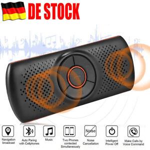 Profi Auto Kfz Freisprecheinrichtung Bluetooth  Lärmminderung Visier Speaker