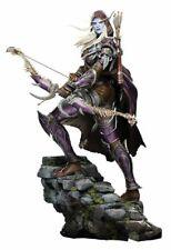 "World of Warcraft Sylvanas 18"" Tall Polystone Statue Authentic"