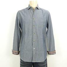 MARC O'POLO Hemd Herren Slim Fit Blau Jeans Gr. M 39/40