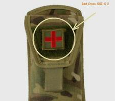 "TCCC DUSTOFF EMS MEDEVAC COMBAT RESCUE PEDRO PJ vêlkrö 2"" 2-TAB : RED CROSS"