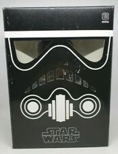 "Star Wars X Medicom VCD 8"" Black Shadow Stormtrooper Sideshow Vinyl Figure 2007"