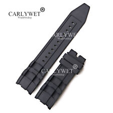 TOP 26mm Black Rubber Watch Band For Invicta Pro Diver 6986-6991-6996-17566