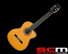 Ibanez GA6CE Classical Acoustic Electric Guitar Spruce Top Mahogany Rosewood