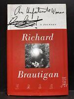 Brautigan, Richard AN UNFORTUNATE WOMAN  A Journey 1st Edition 1st Printing