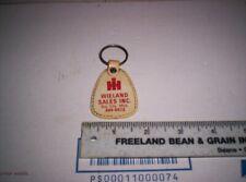 New ListingOld International Harvester Farmall Dealer Key Chain / Ring Holder Estate Find