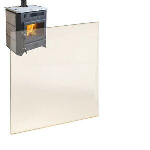 Kaminglas Ofenglas Kaminglas auf Maß feuerfestes Glas Kaminscheibe Ofenscheibe