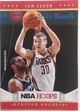 Jon Leuer Forward Houston Rockets #255 2011-2012  9 Original Panini Single