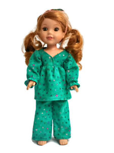"""Pajamas fits Wellie Wisher 14.5"""" Doll Clothes Shiny Stars"""
