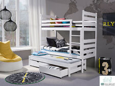Etagenbett OLAF Bett 80x180 Hochbett Öko Doppelstockbett Kinderbett Stockbett