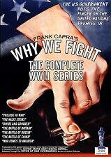 Frank Capra's Why We Fight: The Complete WWII Series (DVD) Oscar Winning Docs