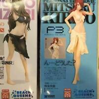 BEACH QUEENS Persona 3 Kirijo Mitsuru 1/10 Scale Painted PVC Figure Used Japan