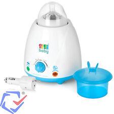 Babykostwärmer Flaschenwärmer Haushalt mit KFZ Auto Adapter und Zubehör