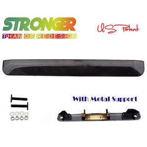 For Scion xB Liftgate Tailgate UPGRADED Handle Lid Garnish Hatch SMOOTH BLACK