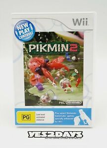 Original PIKMIN 2 Nintendo Wii REPLACEMENT CASE | PAL Edition - As New