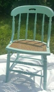 Cane Chair Newly Refurbished (Listing for 1 chair) FREE SHIPPING