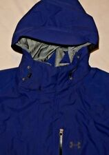 Mens Navy Blue UNDER ARMOUR Cold Gear Reeco Snowboarding Ski Jacket size XL
