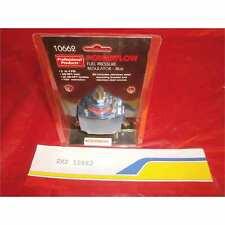 Professional Products 10662 Fuel Pres Regulator 2 Port Fuel Regulator Carbs Bl