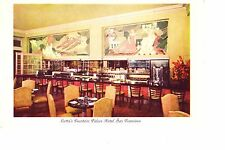 San Francisco  Lotta's Soda Fountain in Palace Hotel  1940s
