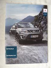 Suzuki Vitara / Vitara S - Prospekt Brochure 12.2015