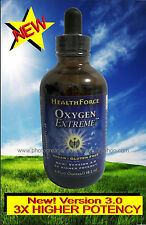 NEW! STABILIZED OXYGEN LIQUID VEGAN~GLUTEN FREE~DIETARY SUPPLEMENT-NO MASK-TANK
